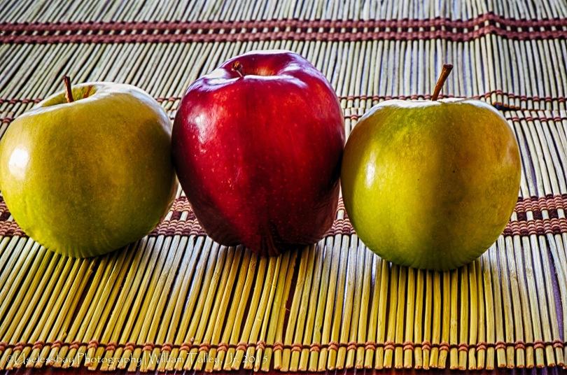 3 Apples Still Life 11_HDR